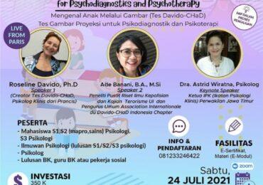 Yuk Mengenal Anak Melalui Gambar (Tes Davido-CHaD) Tes Gambar Proyeksi untuk Psikodiagnostik dan Psikoterapi
